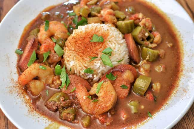 Gumbo Came Out Of Oppression I... is listed (or ranked) 4 on the list The Innovative Foods Born Out Of Cultural Tragedies