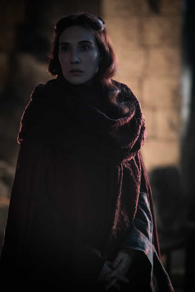Melisandre Lights The Trenches is listed (or ranked) 4 on the list Everything That Happened In 'Game Of Thrones' Season 8, Episode 3: The Battle Of Winterfell