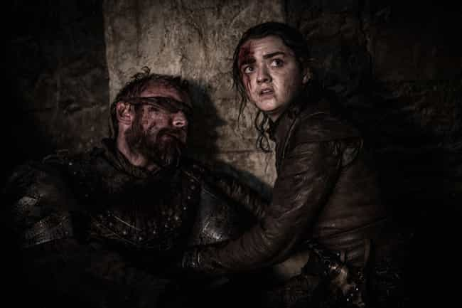 Beric Finally Dies Saving Arya is listed (or ranked) 5 on the list Everything That Happened In 'Game Of Thrones' Season 8, Episode 3: The Battle Of Winterfell