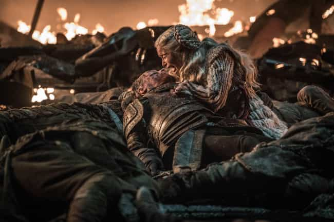Jorah Dies Protecting Dany is listed (or ranked) 3 on the list Everything That Happened In 'Game Of Thrones' Season 8, Episode 3: The Battle Of Winterfell