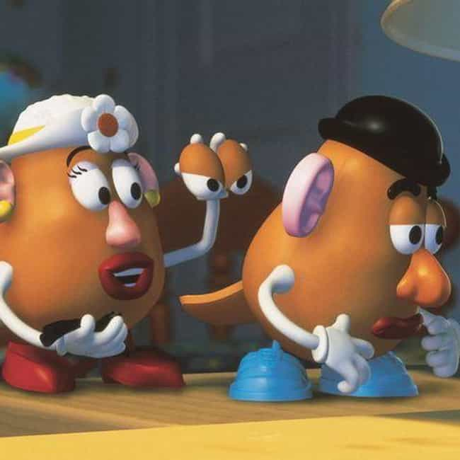 Mr. and Mrs. Potato Head is listed (or ranked) 4 on the list The Best Pixar Couples