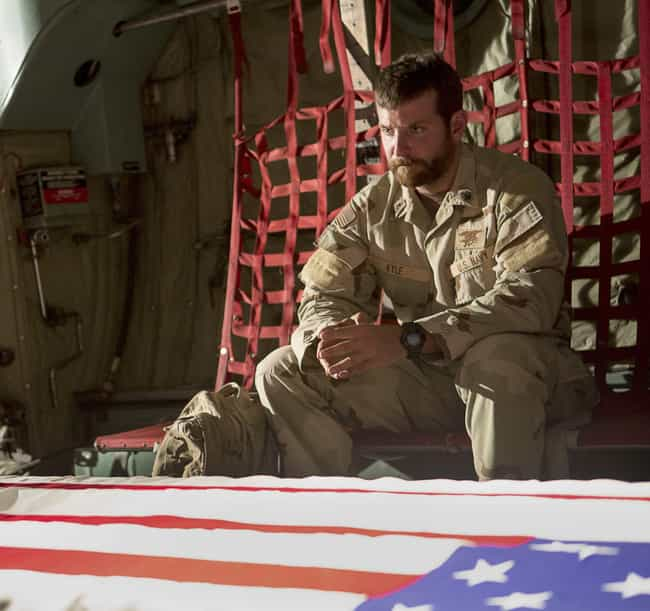 Both Kyle's Memoir And The Fil... is listed (or ranked) 3 on the list Historical Inaccuracies In 'American Sniper'