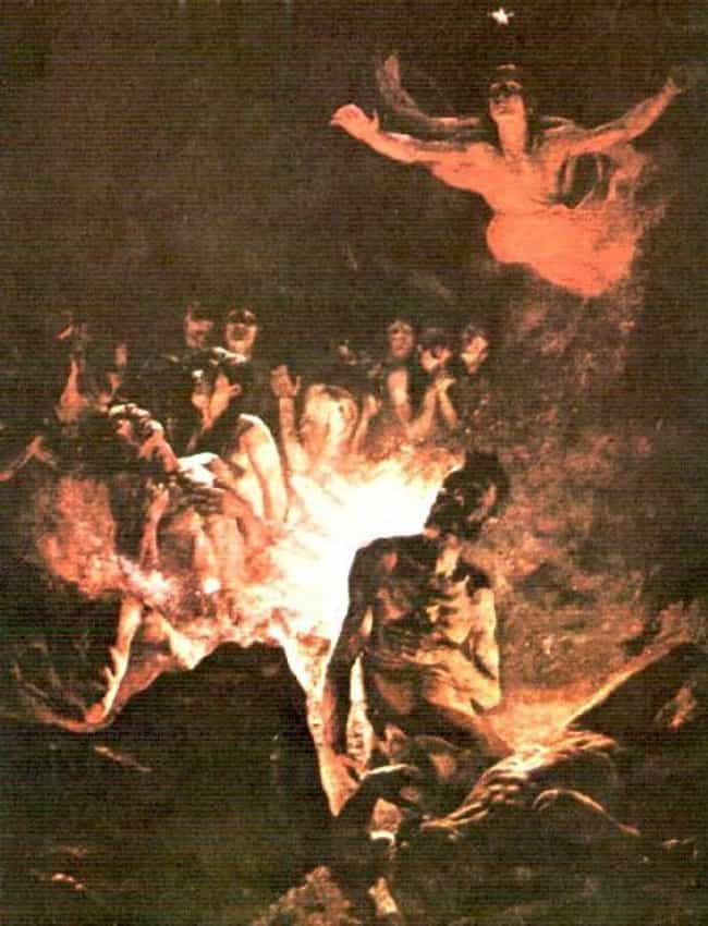 El Purgatorio - Crist&oa... is listed (or ranked) 3 on the list Creepy Depictions Of Purgatory From History