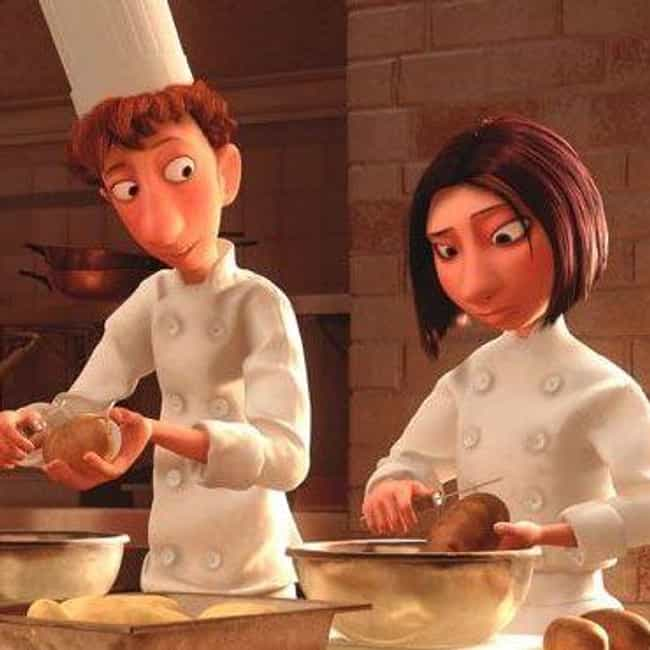 Alfredo Linguini and Col... is listed (or ranked) 4 on the list The Best Pixar Couples