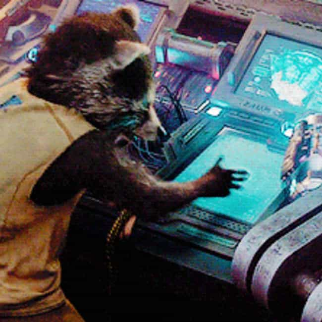 Kidding About The Leg is listed (or ranked) 3 on the list The Best Rocket Raccoon Quotes