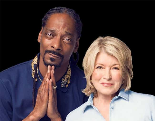 March 2014: Martha Says She Wi... is listed (or ranked) 4 on the list A Timeline Of Martha Stewart And Snoop Dogg's Friendship