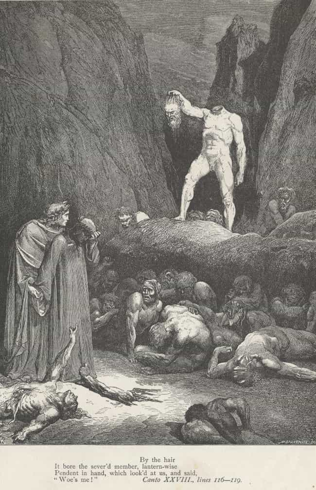 Illustration For Dante's... is listed (or ranked) 4 on the list Creepy Depictions Of Purgatory From History