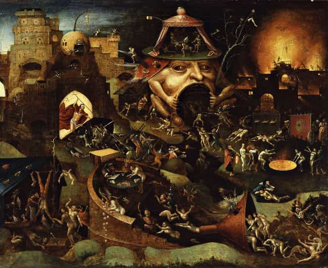 Christ In Limbo - Follow... is listed (or ranked) 1 on the list Creepy Depictions Of Purgatory From History