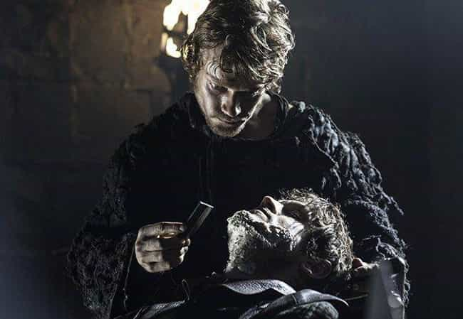 Theon Is Shaken By The News Of... is listed (or ranked) 2 on the list A Complete Timeline Of Theon's Redemption: Everything He Did To Become A Stark Again