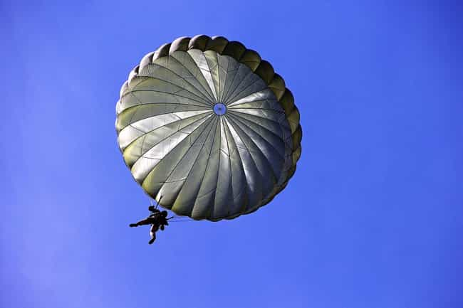 Modern Parachute Packs Are Vir... is listed (or ranked) 2 on the list What To Do If You Find Yourself Plummeting Toward The Earth Without A Working Parachute