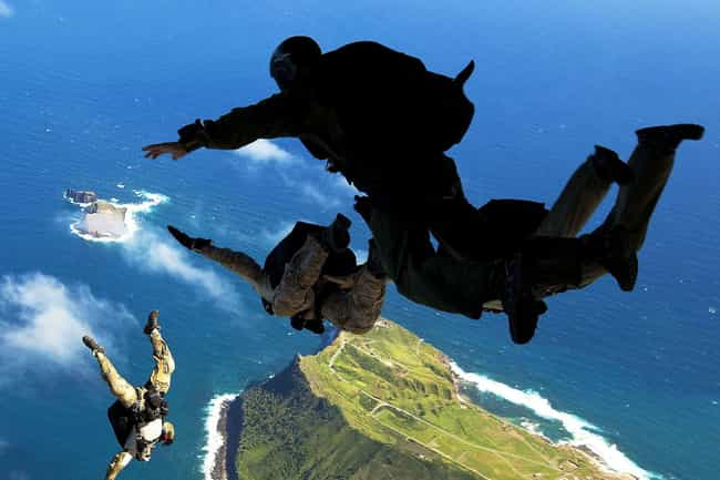 Avoid Landing In Water, If Pos... is listed (or ranked) 3 on the list What To Do If You Find Yourself Plummeting Toward The Earth Without A Working Parachute