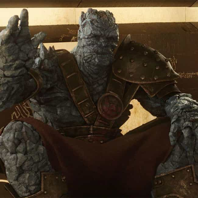 Pile Of Rocks is listed (or ranked) 2 on the list The Best Korg Quotes
