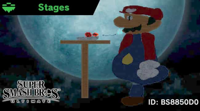 That's A Spicy Meatball ... is listed (or ranked) 3 on the list 15 Hilarious Fan-Made Stages In 'Super Smash Bros. Ultimate'