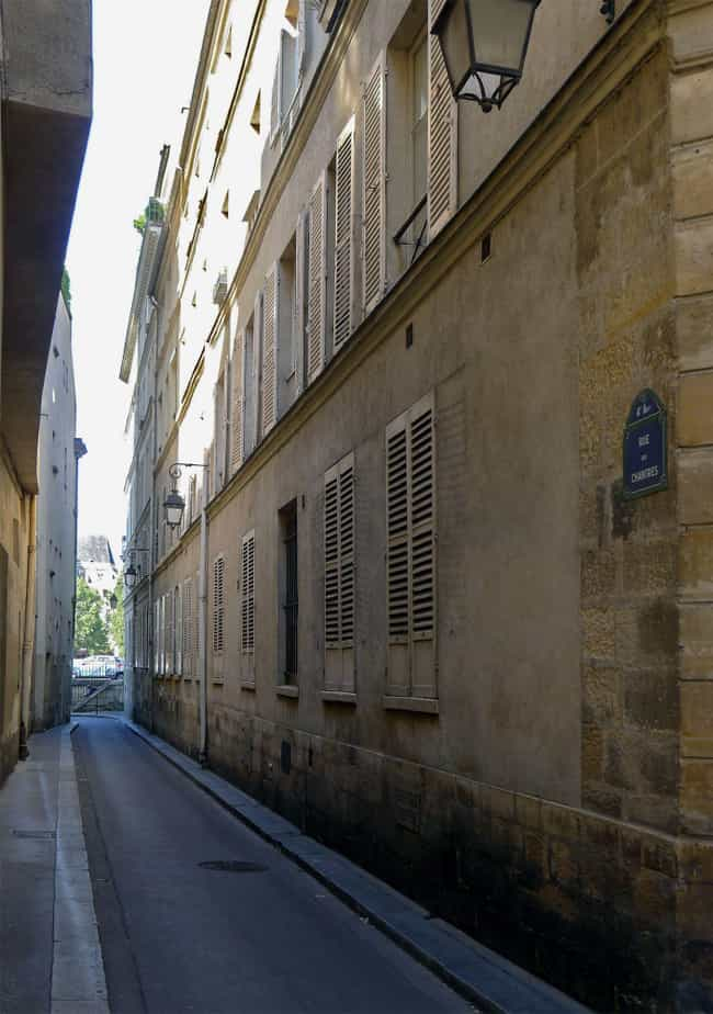 Rue Des Chantres Is One ... is listed (or ranked) 1 on the list Creepy Ghost Stories And Legends From Paris