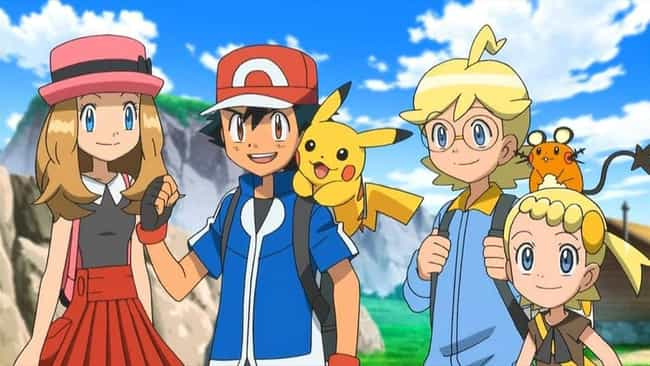 XY is listed (or ranked) 2 on the list EveryPokémonAnime Season Ranked Best to Worst