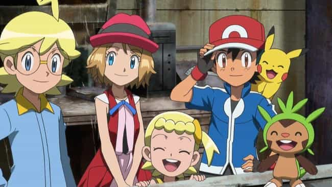 XYZ is listed (or ranked) 1 on the list EveryPokémonAnime Season Ranked Best to Worst