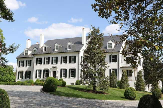 Hickory Hill In Virginia Was H... is listed (or ranked) 2 on the list Notable Places The Kennedys Live And Have Lived