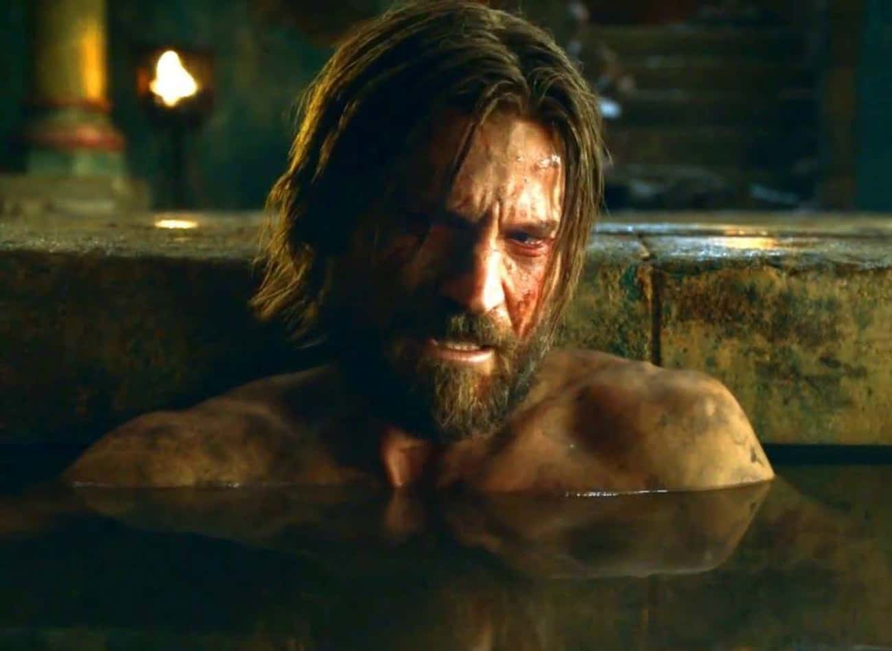Jaime Shows Vulnerability When He Opens Up To Brienne In The Baths