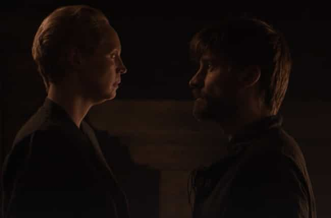 Jaime And Brienne Finally Get ... is listed (or ranked) 6 on the list Everything That Happened In 'Game Of Thrones' Season 8, Episode 4: 'The Last Of The Starks'
