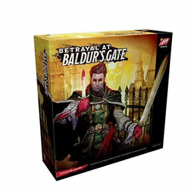 Betrayal At Baldur's Gate is listed (or ranked) 3 on the list 16 Of The Best Video Game-Based Board Games