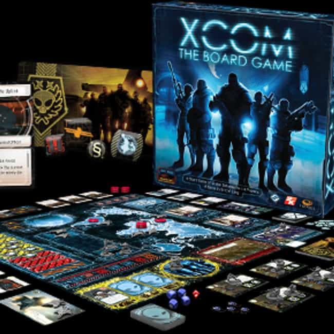 XCOM: The Board Game is listed (or ranked) 4 on the list 16 Of The Best Video Game-Based Board Games