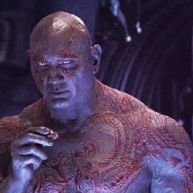 Invisible is listed (or ranked) 4 on the list The Best Drax the Destroyer Quotes