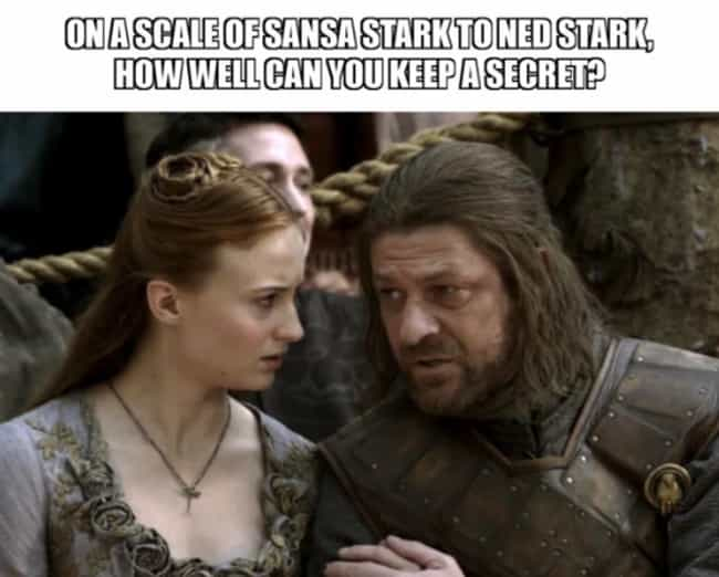 The Apple Falls Far From The T... is listed (or ranked) 1 on the list The 22 Best Memes From 'The Last Of The Starks'