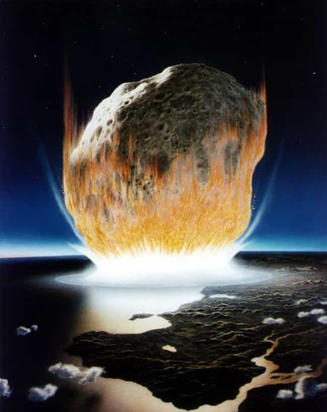 The Asteroid Struck Eart... is listed (or ranked) 2 on the list A Beat-By-Beat Breakdown Of The Asteroid Impact That Killed The Dinosaurs