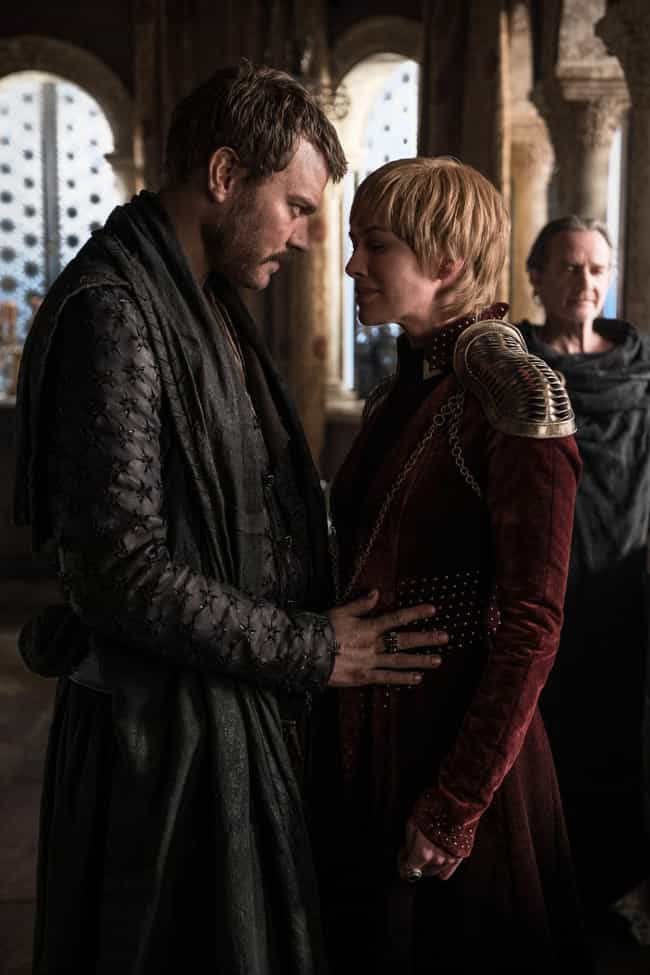 Tyrion Exposes Cersei's Lies is listed (or ranked) 1 on the list Every Important Detail You Missed In 'Game Of Thrones' Season 8, Episode 4: 'The Last Of The Starks'