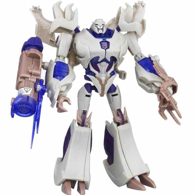 TF Prime Megatron is listed (or ranked) 4 on the list The 20 Best Megatron Toys Ever Made, Ranked
