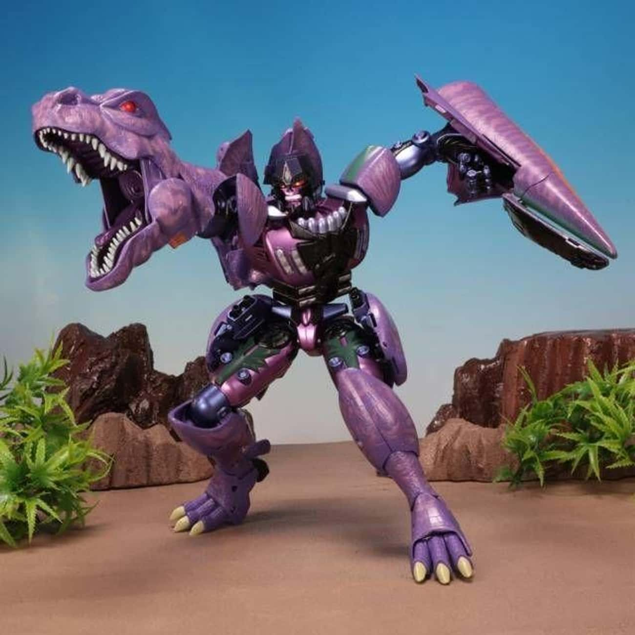 Masterpiece Beast Wars Megatro is listed (or ranked) 3 on the list The 20 Best Megatron Toys Ever Made, Ranked