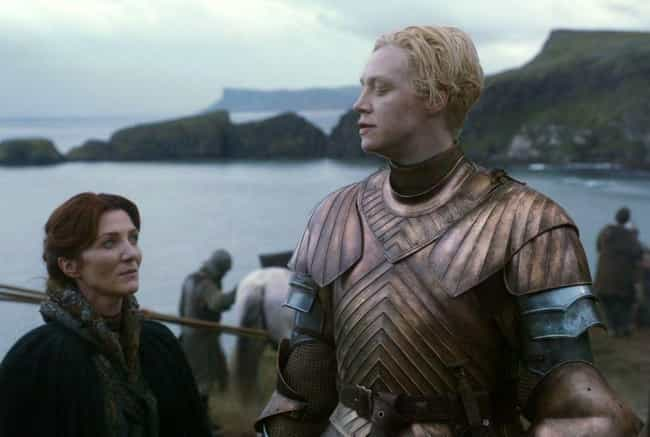 Brienne Defies Traditional Gen... is listed (or ranked) 1 on the list A Complete Timeline Of How Brienne Of Tarth Became One Of The Greatest Heroes In Westerosi History