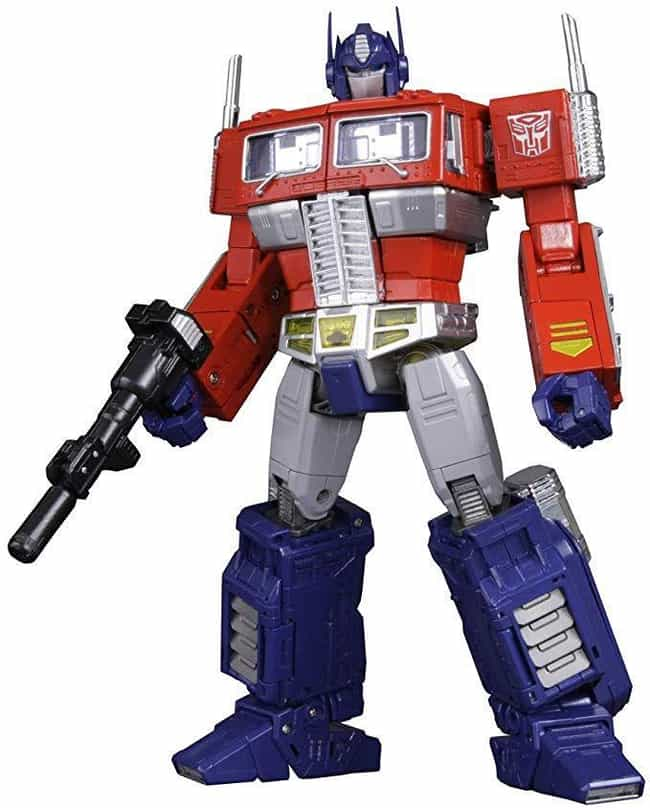 Masterpiece Optimus Prim... is listed (or ranked) 1 on the list The 20 Greatest Optimus Prime Toys Ever Made, Ranked