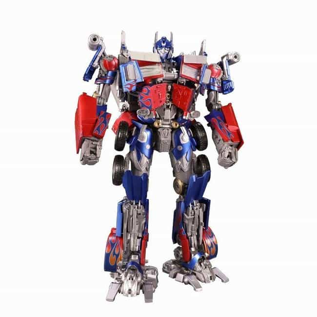 Masterpiece Movie Optimus Prim... is listed (or ranked) 4 on the list The 20 Greatest Optimus Prime Toys Ever Made, Ranked