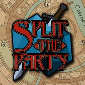 Split the Party is listed (or ranked) 22 on the list The Most Popular D&D Podcasts Right Now, Ranked