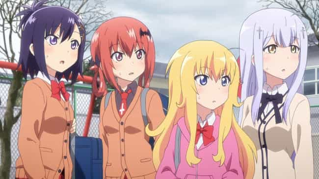 Gabriel Dropout is listed (or ranked) 3 on the list The 15 Greatest Anime About Angels