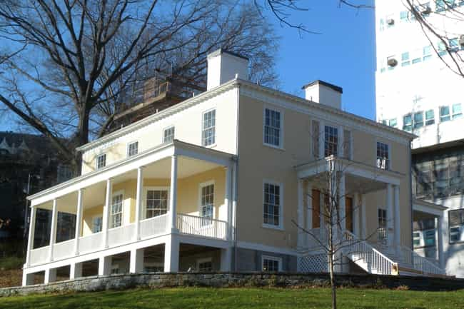 Alexander Hamilton Lived... is listed (or ranked) 3 on the list Notable Homes Of The Founding Fathers