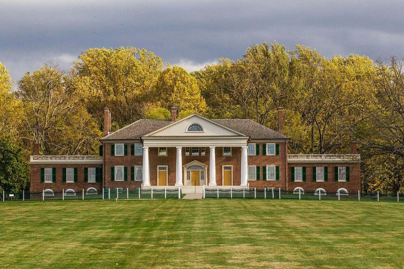 James Madison Lived At Montpel is listed (or ranked) 4 on the list Notable Homes Of The Founding Fathers