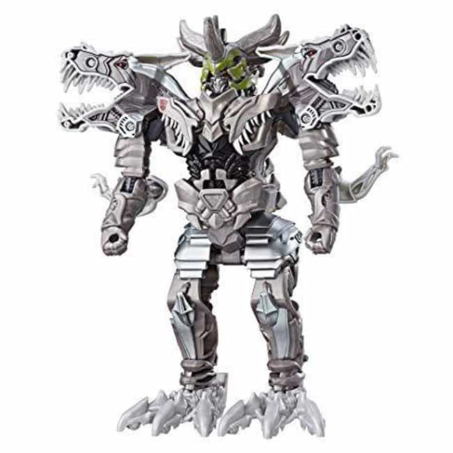 Knight Armor Turbo Changer Gri... is listed (or ranked) 4 on the list The Best Grimlock Toys, Ranked