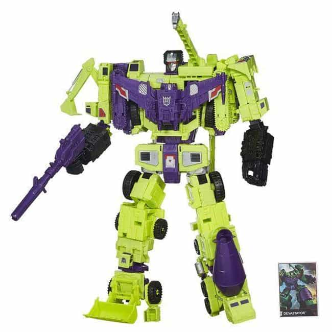 Titan Class Devastator ... is listed (or ranked) 2 on the list The Best Devastator Toys, Ranked