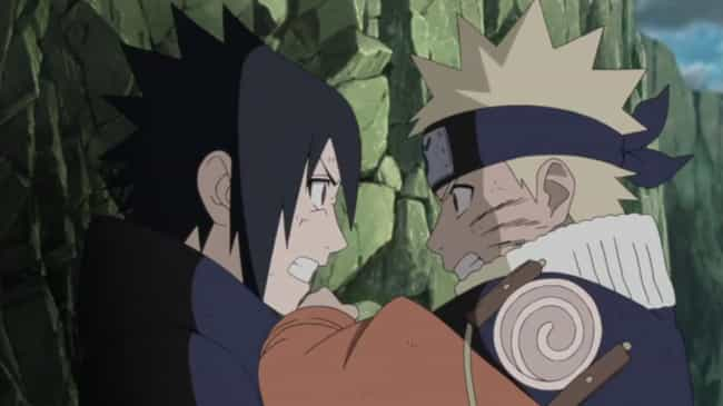 Naruto vs. Sasuke (Valley of t... is listed (or ranked) 3 on the list The 15 Best Sasuke Uchiha Fights in Naruto History