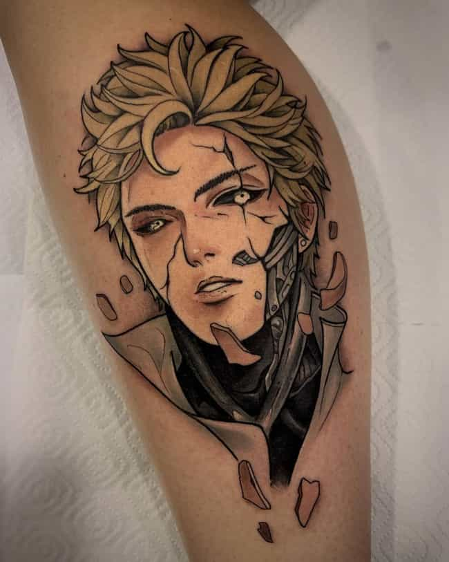 Genos Has Never Looked So Good is listed (or ranked) 1 on the list The 25 Best One Punch Man Tattoos Ever Inked