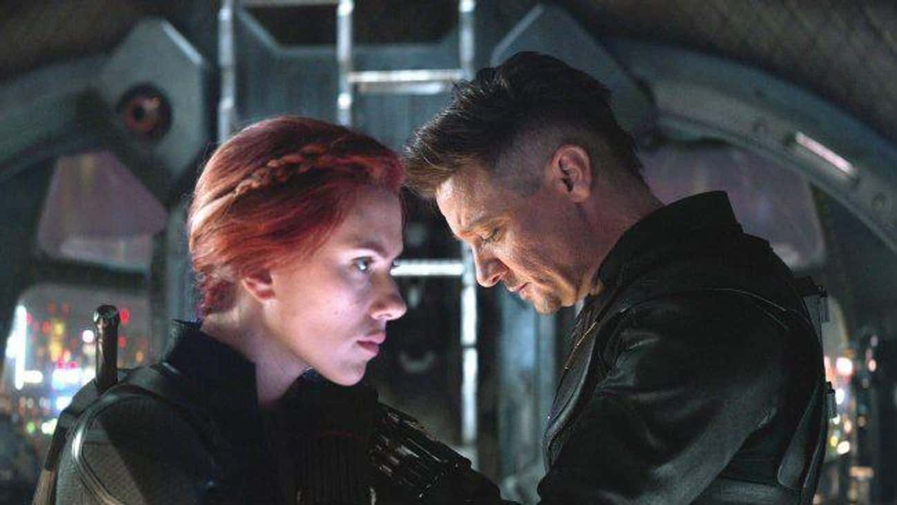 'Avengers: Endgame': Natasha S is listed (or ranked) 4 on the list What Made You Cry Most In The MCU Movies?