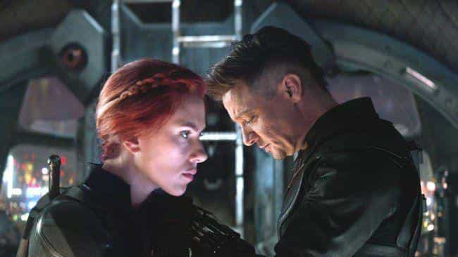 'Avengers: Endgame': Natasha S... is listed (or ranked) 3 on the list What Made You Cry Most In The MCU Movies?