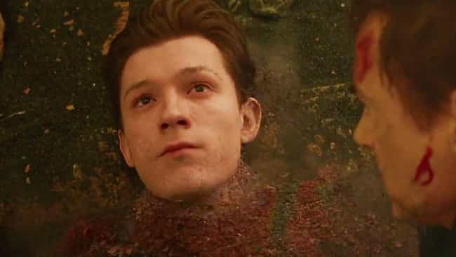 'Avengers: Infinity War': Pete... is listed (or ranked) 2 on the list What Made You Cry Most In The MCU Movies?