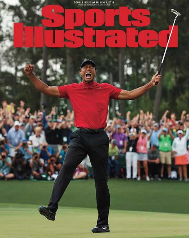 Sports Illustrated - Apr... is listed (or ranked) 2 on the list The Best Magazine Covers of 2019