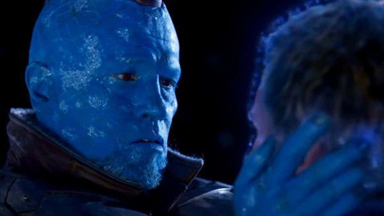 'Guardians Of The Galaxy: Vol. is listed (or ranked) 3 on the list What Made You Cry Most In The MCU Movies?