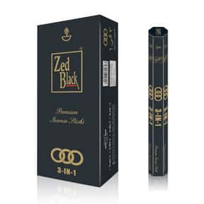 Zed Black 3-in-1 Incense Stick is listed (or ranked) 15 on the list The Best Incense to Support Positive Energy