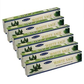 Satya White Sage Masala Incens is listed (or ranked) 12 on the list The Best Incense to Support Positive Energy