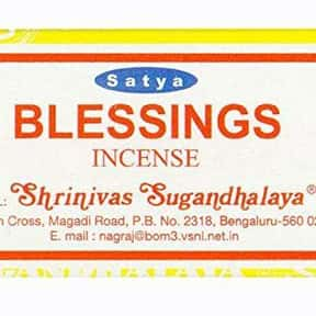 Satya Nag Champa Blessings Inc is listed (or ranked) 10 on the list The Best Incense to Support Positive Energy